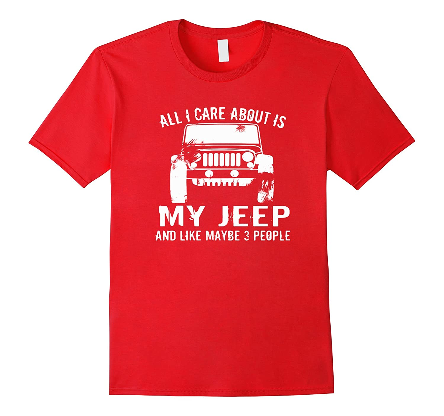 All I care about is my jeep and like maybe 3 people-CD
