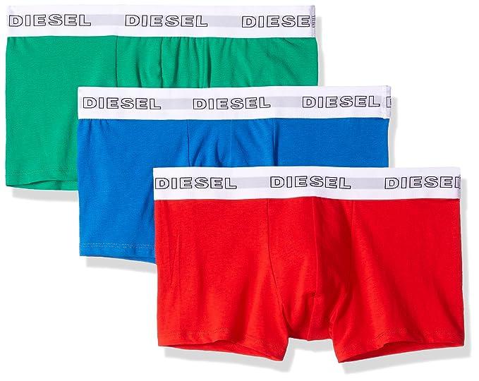 Diesel 3Pack Boxer para Hombre, UMBX Korythreepack, Uni - Verde/Rojo/Azul: Amazon.es: Ropa y accesorios