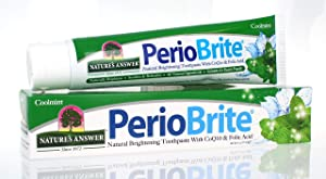 Nature's Answer Periobrite Natural Toothpaste, 4 Ounce