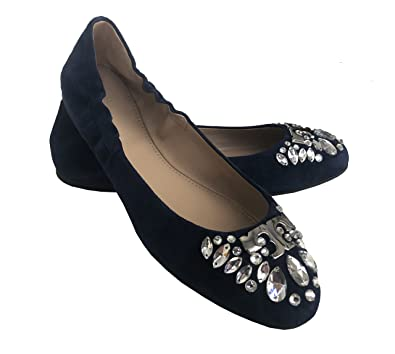 49ea94d9cba Image Unavailable. Image not available for. Color  Tory Burch Delphine Ballet  Flat ...