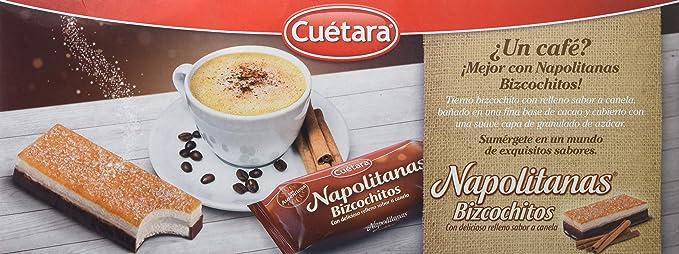 Napolitanas Bizcochitos, pack of 6 unidades: Amazon.es: Alimentación y bebidas