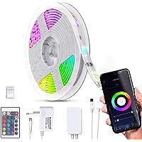 B.K.Licht I Smart LED Stripe 3 Meter I WiFi LED Band I App bestuurbaar I Voice control I Incl. afstandsbediening I…