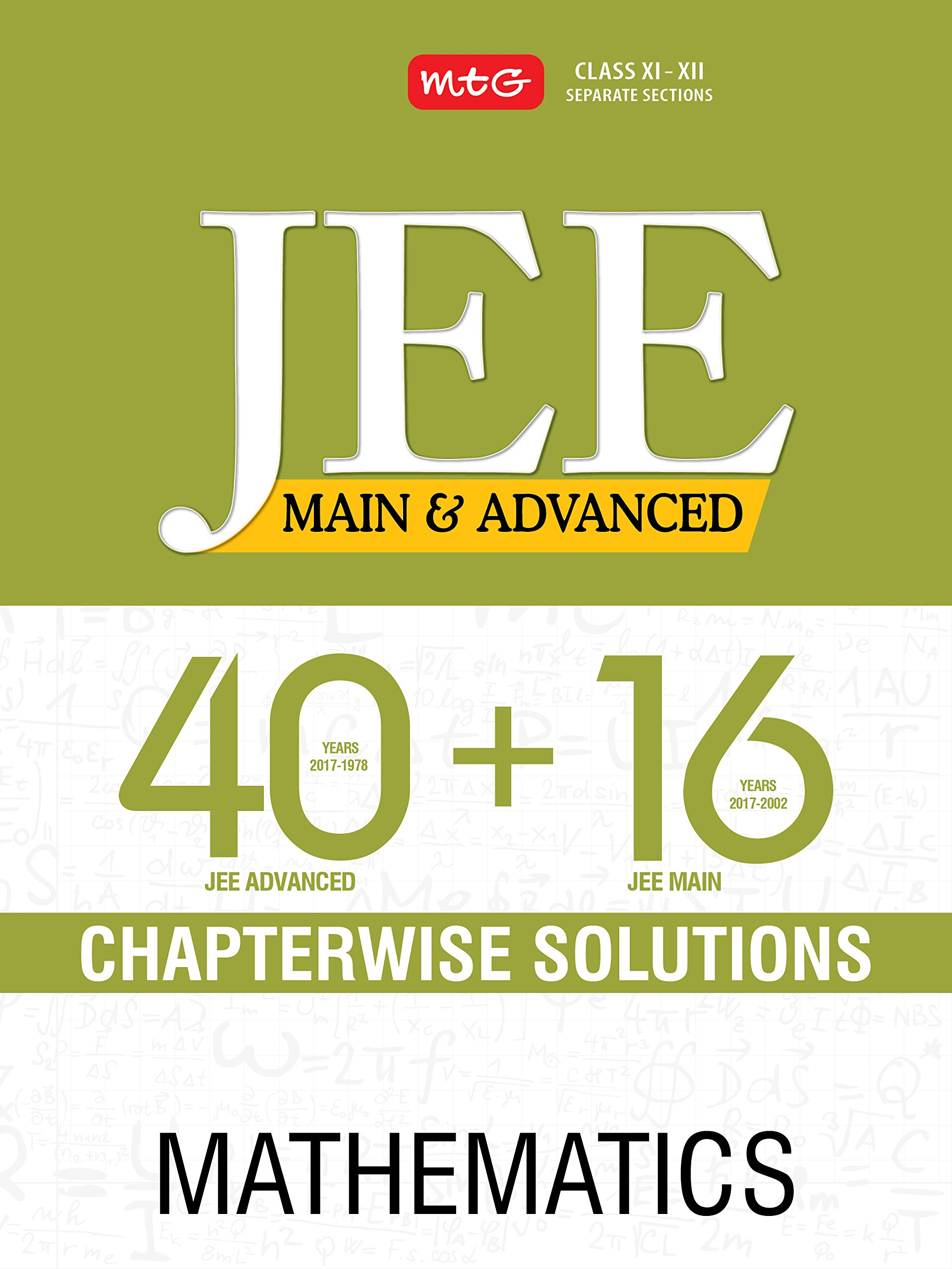 Download 40+ 16 Years Chapterwise Solutions Maths for JEE (Adv + Main) pdf epub