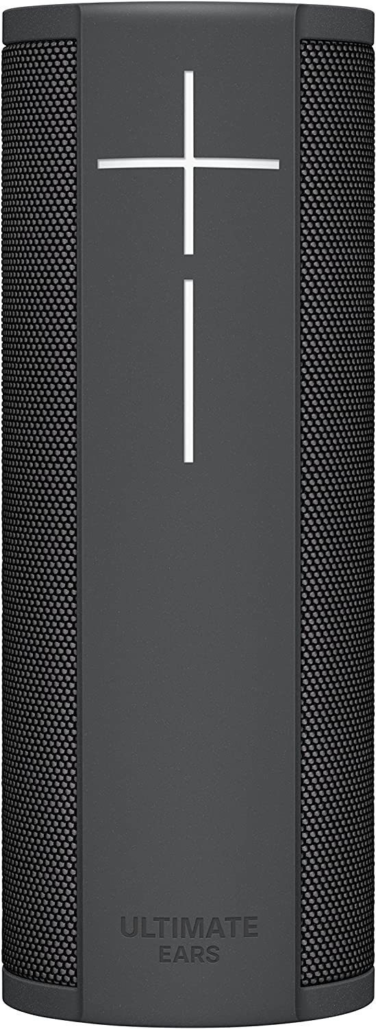 Ultimate Ears MEGABLAST Portable Waterproof Wi-Fi and Bluetooth Speaker with Hands-Free Voice Control - Graphite