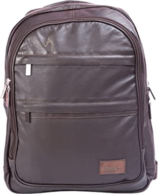 Velez Genuine Leather Backpack for Men Bolso en Cuero de Hombre Brown