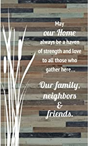 Dexsa Plaque-Wood Silhouettes-May Our Home (6