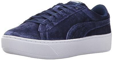 3543a8b08d2 PUMA Women s Vikky Platform Velvet Rope Blue  Amazon.ca  Shoes ...