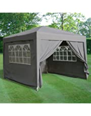 Airwave 3 x 3mtr Pop Up Gazebo con impermeable 2 windbars y 4 pierna peso bolsas