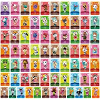 72pcs NFC Cards for Animal Crossing New Horizons ACNH Switch/Switch Lite/Wii U with Case