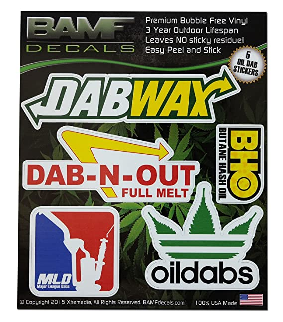 Review BAMFdecals DabWax OilDabs BHO