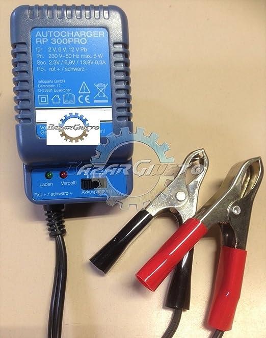 Cargador para 2/6/12 V) para baterías plomo - Gel - AGM 1,2 - 40 ...