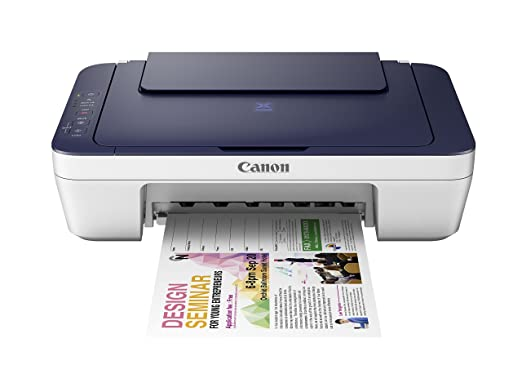 Canon Pixma MG2577s All-in-One InkJet Printer (Blue/White)