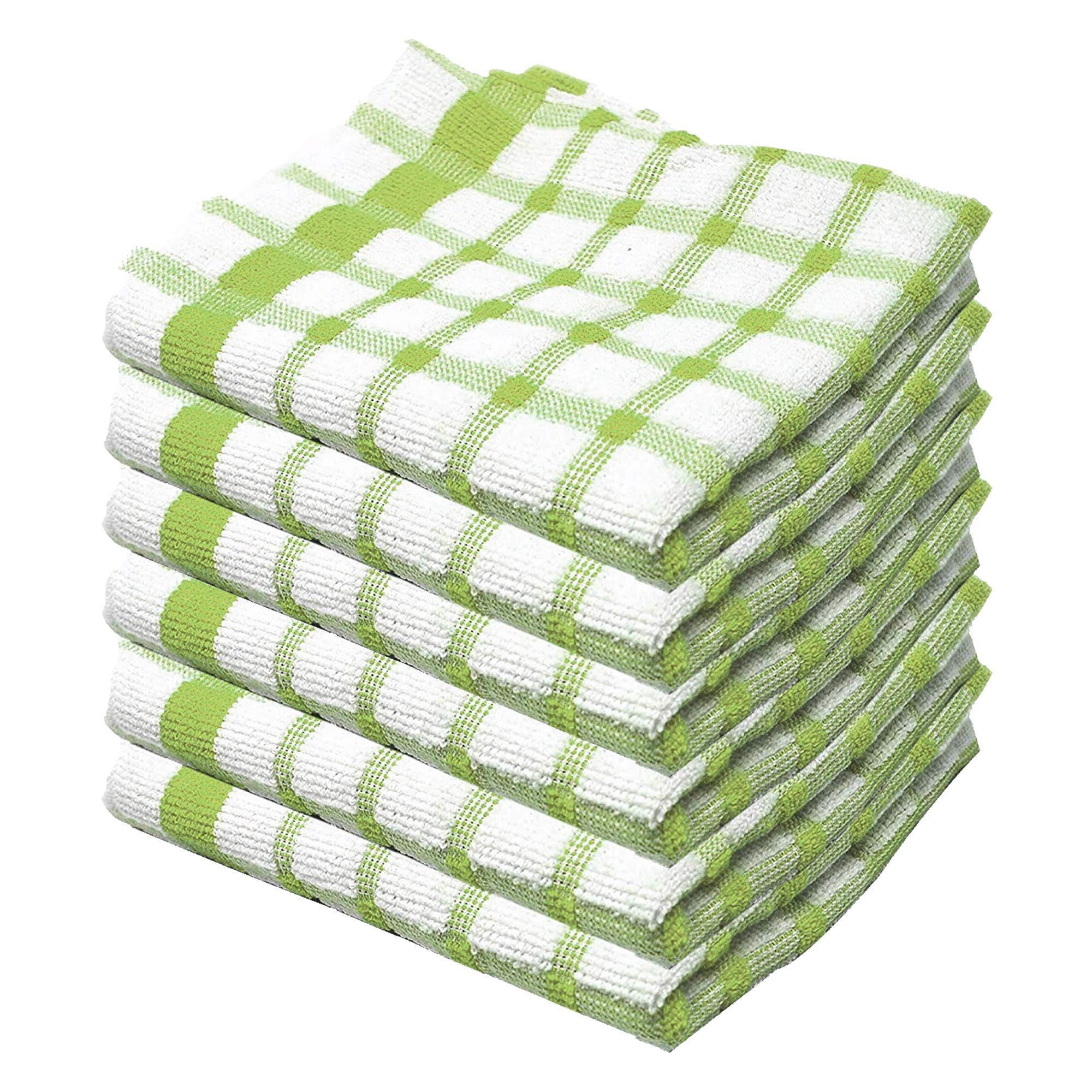3 Pack 9 /& 12 40cm x 70cm 6 Wonderdry Soft Monocheck Jumbo Thick Kitchen Dish Cleaning Drying Cloth Pack of 3 KB Tradax 100/% Egyptian Cotton Terry Tea Towel
