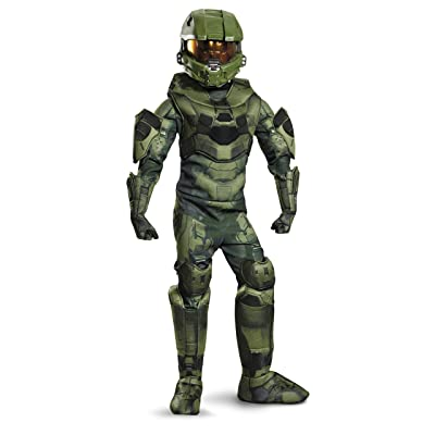 Master Chief Prestige Costume, Medium (7-8): Toys & Games