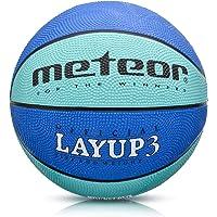 meteor Balón Baloncesto Talla 3 Pelota Basketball Bebe Ball Infantil Niño Balon Basquet - Baloncesto Ideal para los…