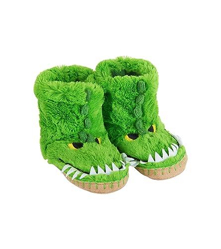 ad69128a8a46 Hatley Boys  Animal Hi-Top Slippers