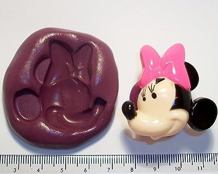 Molde de silicona para repostería con forma de Minnie Mouse