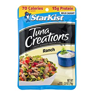 StarKist Tuna Creations, Ranch, 2.6 oz pouch (Pack of 24) (Packaging May Vary)