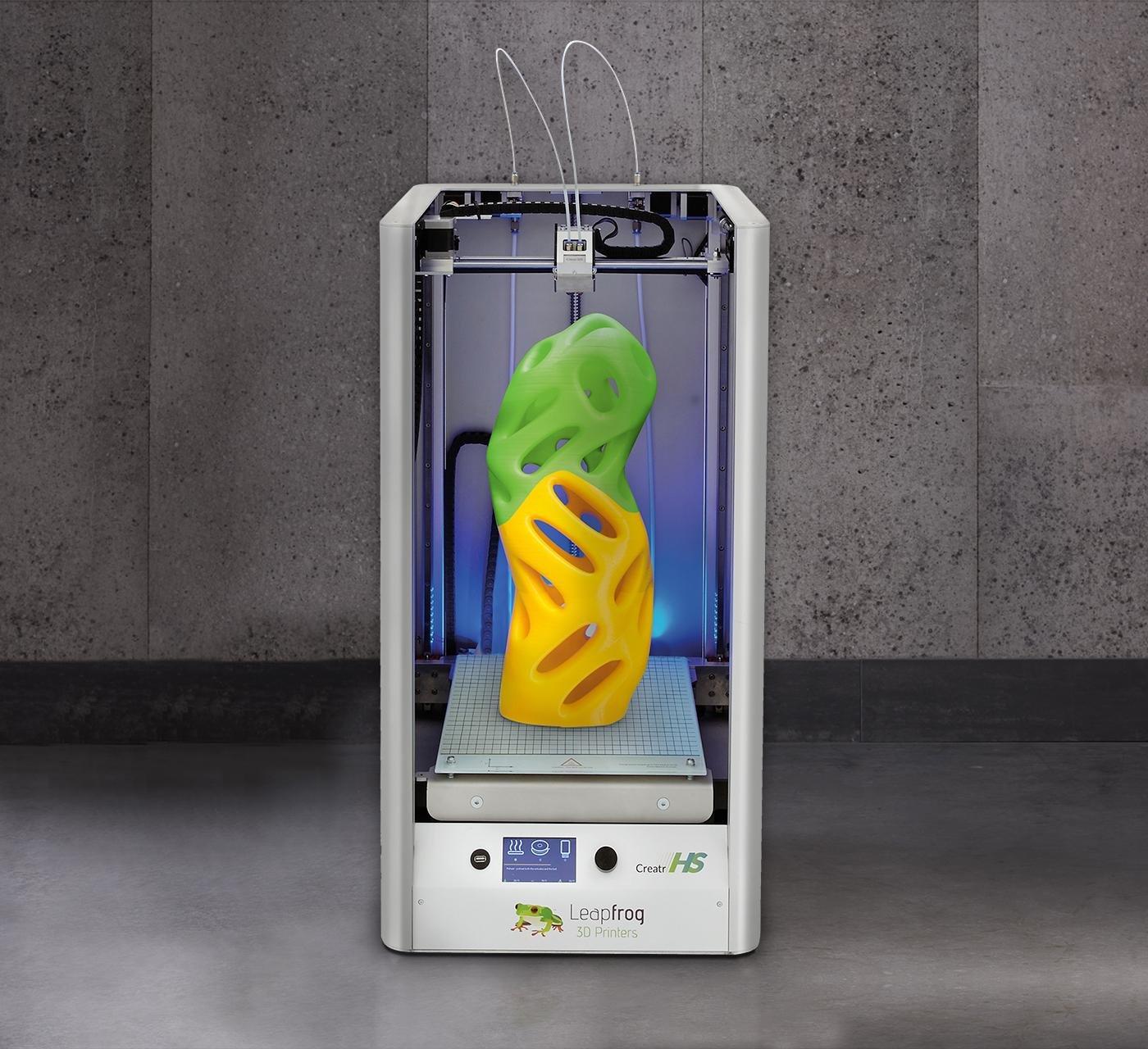 LeapFrog creatr HS XL impresora 3d, velocidad hasta a 150 mm/s ...