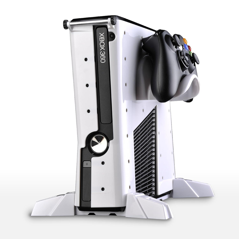 Microsoft Xbox 360 -Vault Carcasa Básica, Color Blanco ...