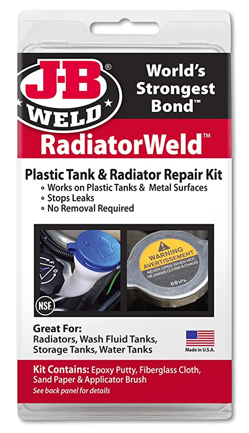 JB Weld 2120 Radiator and Plastic Repair Kit