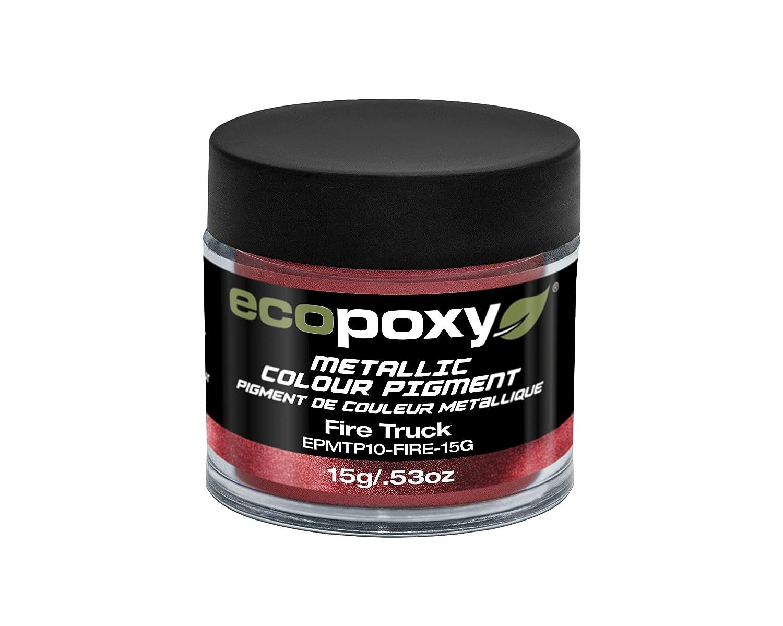 Ecopoxy pigmento metallico, Fire Truck, 15g