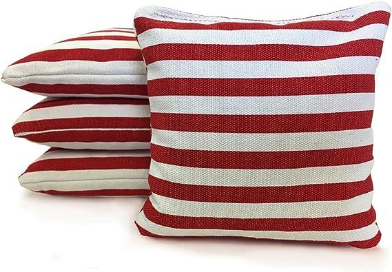 Cornhole Bags\u20228 ACA Regulation Bags\u2022All Weather\u2022Stars and Stripes