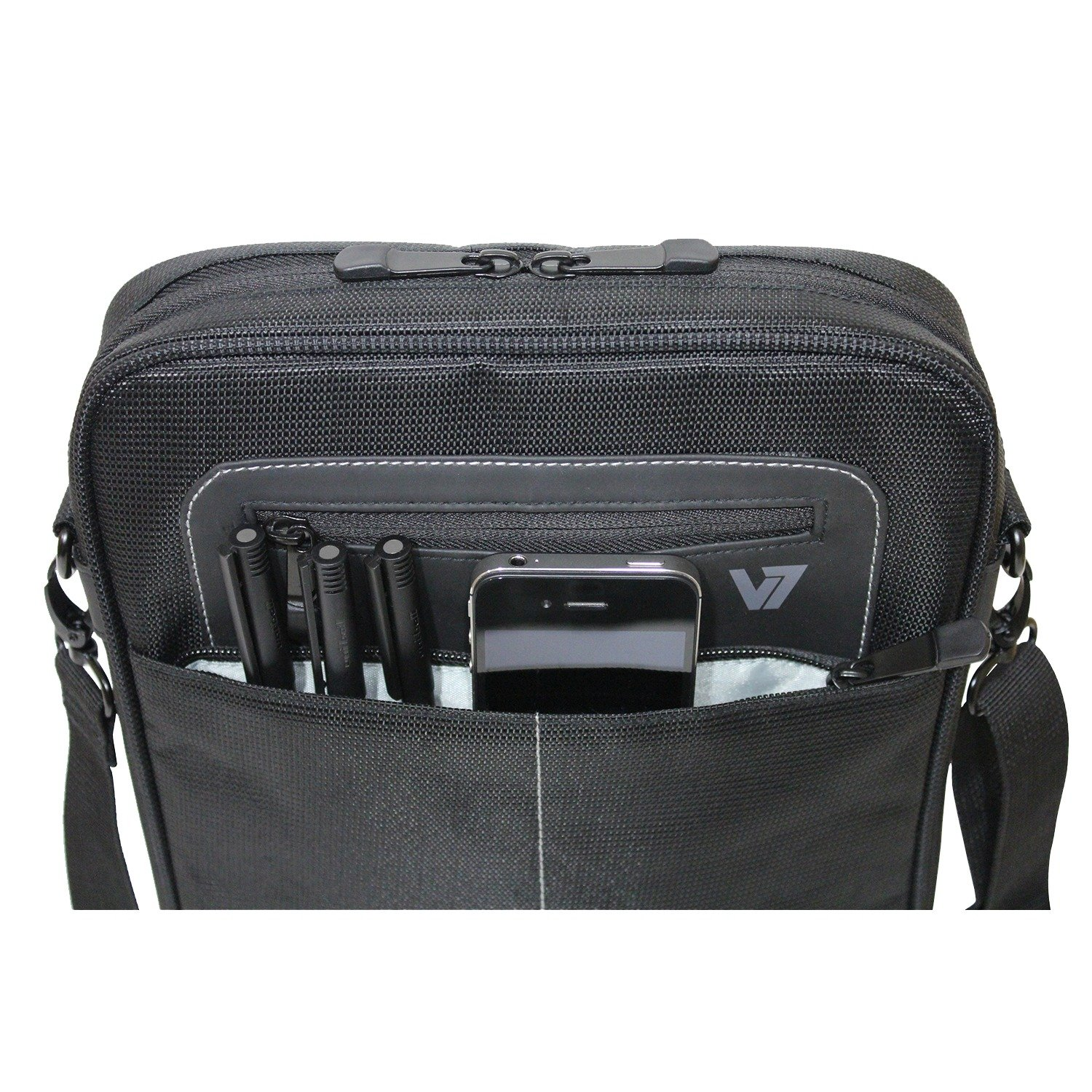 Amazon.com: V7 Cityline Messenger Bag for iPads and Tablets Upto ...