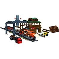 Power Train Turbos Sawmill Equipment Train Set, Multi Color
