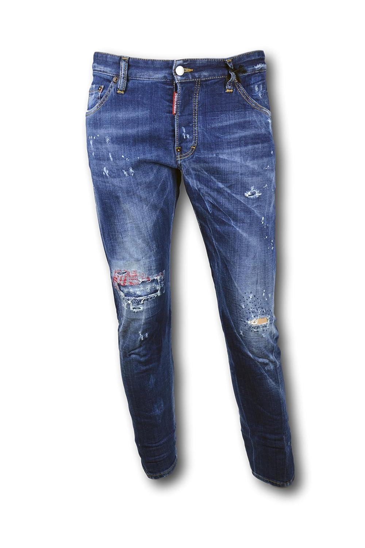 Dsquared - jeans sexy twist - s74lb00892 - 50: Amazon.es ...