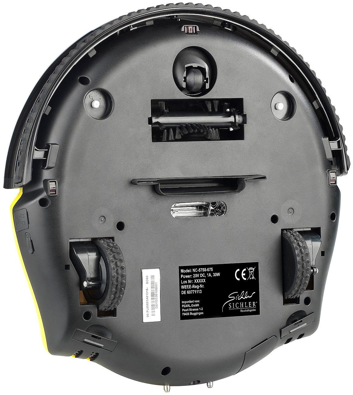 Sichler Haushaltsgeräte - Robot aspirador con Live View y aplicación de control: Amazon.es: Hogar