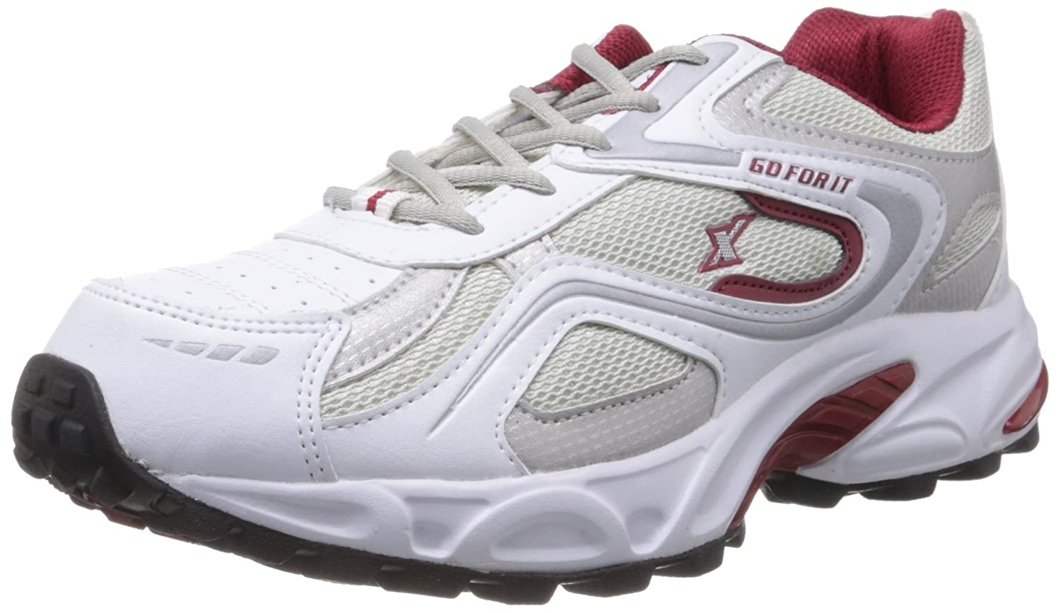 Sparx white running shoes for men