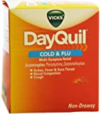 Vick's DayQuil Cold & Flu (Box of 25 Packets of 2 Liquicaps)