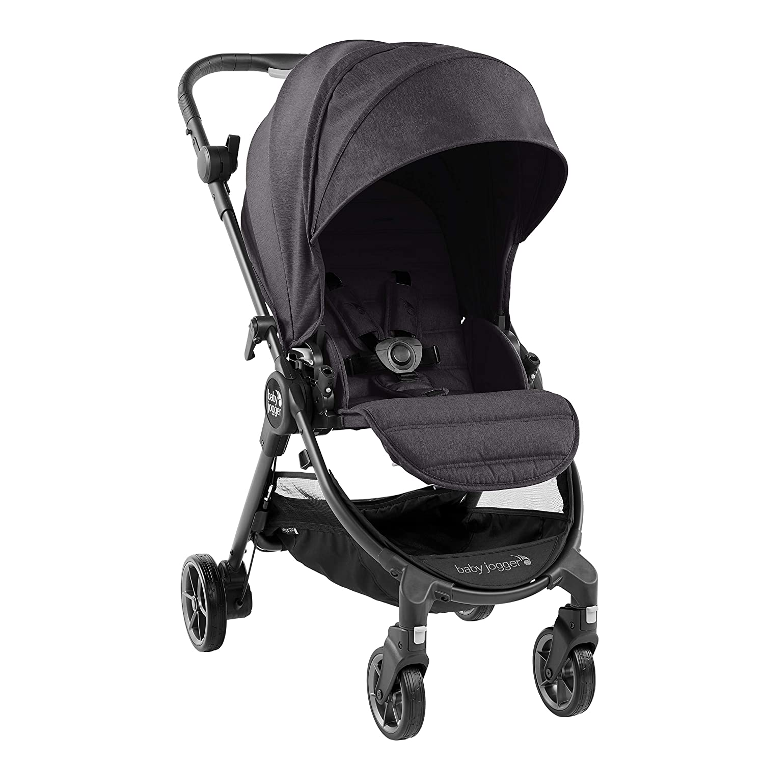 Baby Jogger City Tour Lux Lightweight Compact Travel Stroller Slate w// Bag NEW