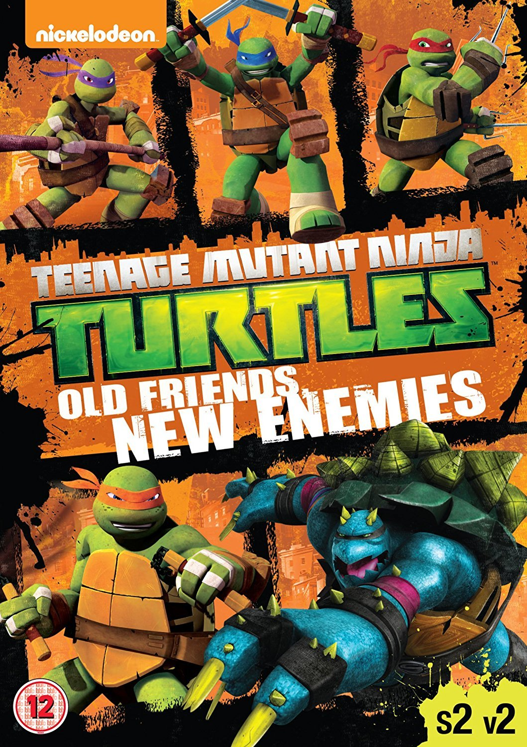 Amazon.com: Teenage Mutant Ninja Turtles - Season 2, Vol. 2 ...