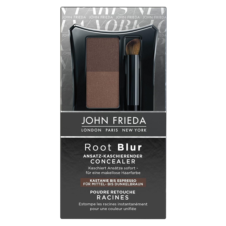 John Frieda Root Blur Ansatz-kaschierender Concealer - Kastanie bis Espresso Mittel- dunkelbraun, 2er Pack (2 x 2 ml) 22816_1
