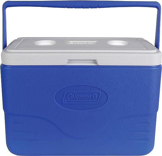 Coleman 48-Quart Performance Cooler Heavy Duty Portable Ice Chest Blue Storage