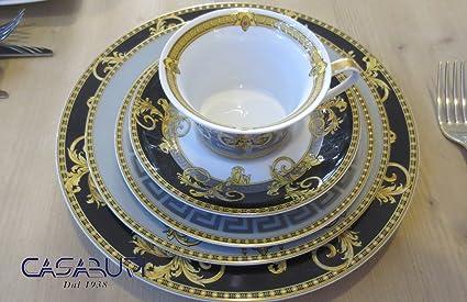 Versace Prestige Gala Set 5 piezas (Plato llano 27-piatto Frutas 22 cm-