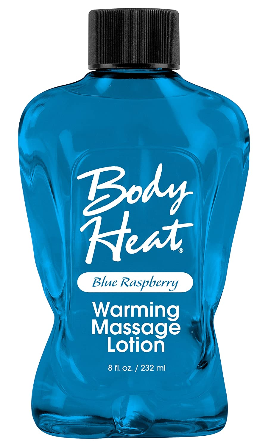 Body Heat Lotion, Strawberry, 8 Ounce