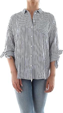 Only Camisa Lillo Azul Mujer 36 Azul: Amazon.es: Ropa y accesorios