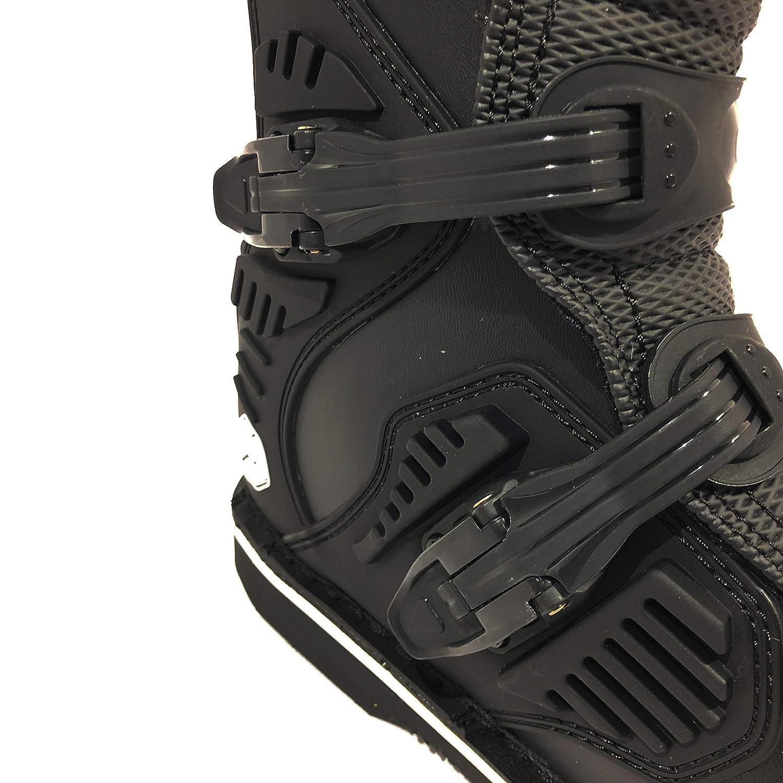 Motocross Botas SCOYCO MBM001 Hombre Off Road Protector Enduro ATV Quad Carreras Kart Zapatos Negro Exclusivo EU 46