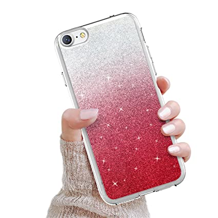 Amazon.com: GOADK - Carcasa para iPhone 7 y iPhone 8, color ...
