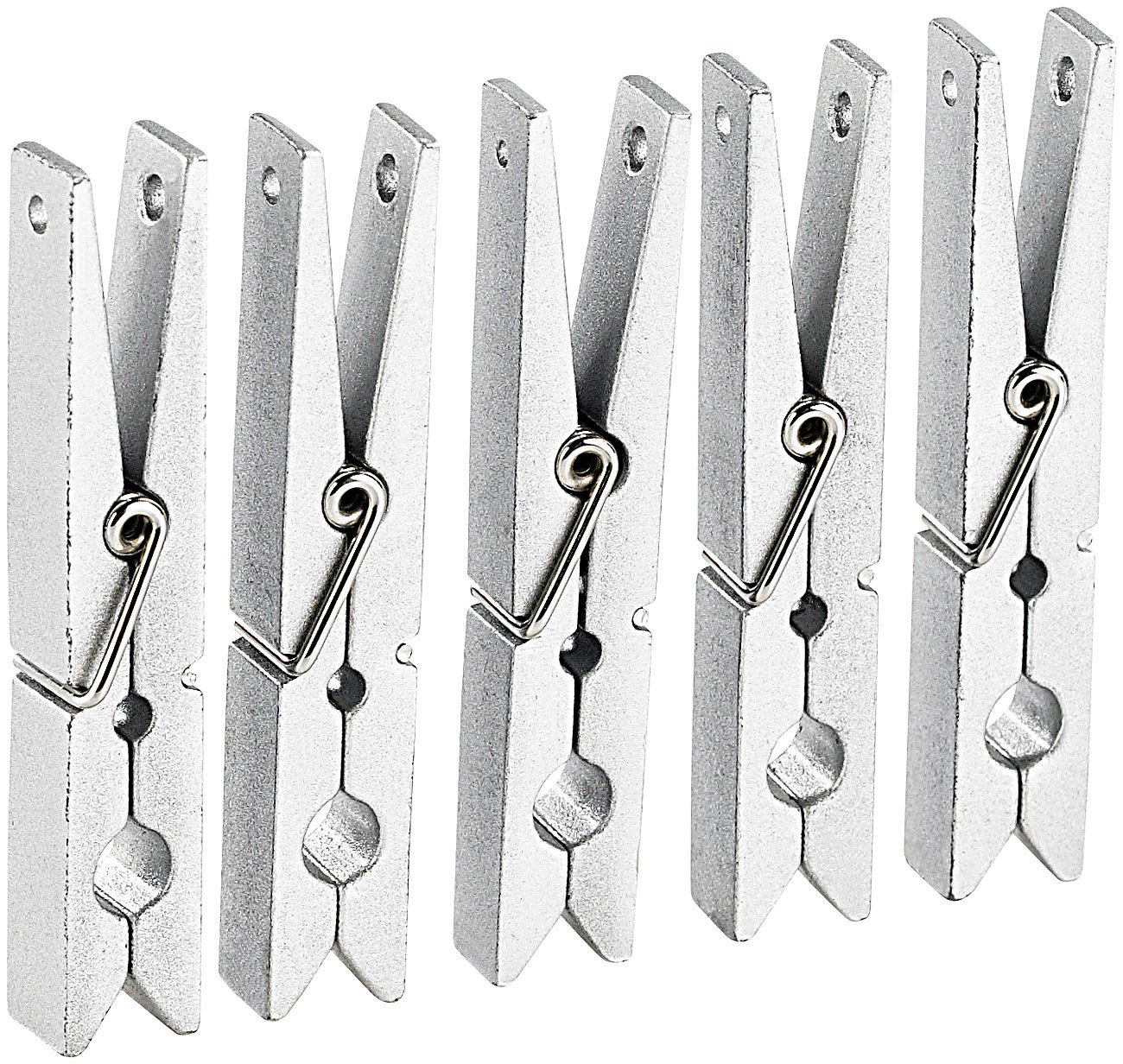 Infactory - 5 Imanes para Nevera con diseño de Pinzas de Metal ...