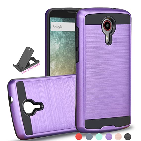 ZTE N817 Case,ZTE Quest Case,ZTE Uhura Case,ZTE Ultra Case With Phone  Grip,AYOO [Drop Protection] Brushed Texture Full-Body Shockproof Protective