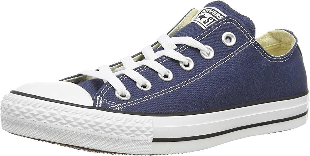 54d27b92e759 Converse Classic Chuck Taylor All Star Low OX Tops Men Women Canvas Trainer  (3.5 UK
