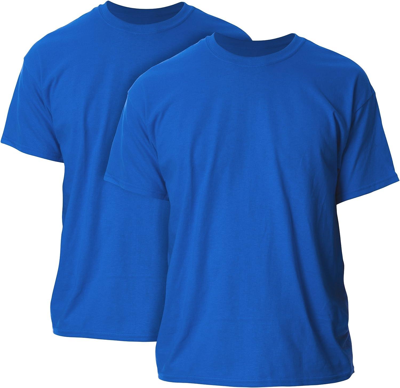 Gildan Men's Ultra Cotton T-Shirt, Style G2000, 2-Pack