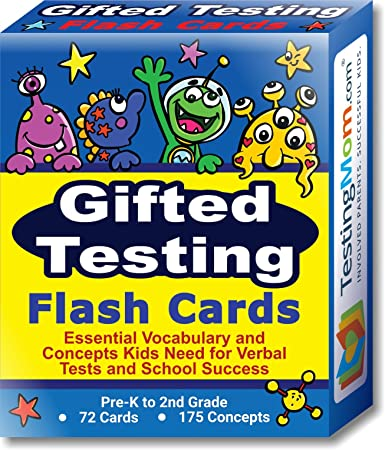 Amazon.com: Gifted Testing Flash Cards for CogAT test, OLSAT test ...