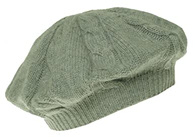 bc0864ad2f0 Charter Club Women s Cashmere Cable Knit Hat One Size Heather Platinum at  Amazon Women s Clothing store