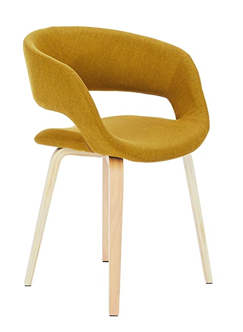 Synoun Chaise Salle A Manger Chaise Kelly Curry Amazon Fr