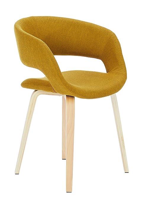 Ac Design Furniture 60105 Sedia Da Salotto Jack Seduta In Stoffa